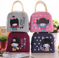 Japan Kawaii Cartoon Kimono Girls Oxford Lunch BAG Handbag TOTE Pouch Lunch BOX Storage BAG Pouch Case