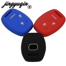For Honda FIT INSIGHT Civic Accord CR-V Ridgeline 2+1 3 Buttons Car Key Case Cover FOB Car-styling