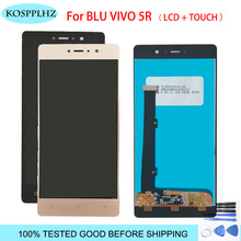 High Quality White Gold Black Gray LCD Display Digitizer Touch Screen Assembly For BLU Vivo 5R