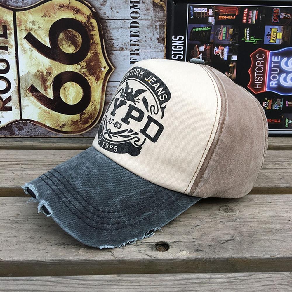 Unisex cap baseball cap fitted hat Casual cap hip hop hat wash cap for men women