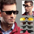 Venda quente de Proteção UV400 Óculos Polarizados Clip Sobre Óculos de Sol Óculos de Visão Noturna Condução Óculos Mulheres Homens Óculos Gafas de sol Sombra Verão