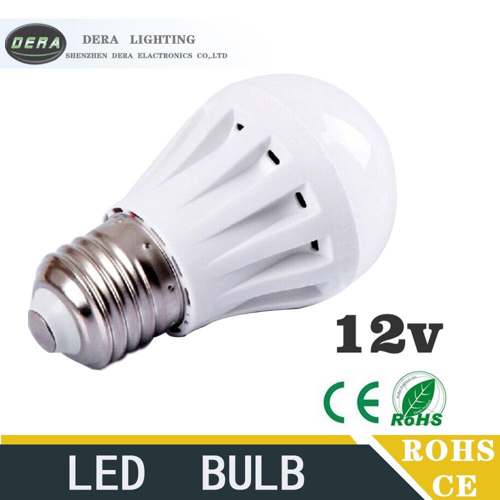1 piece Led Bulbs 3W5W7W9W12W led light bulb DC 12V E27 12 volt Led ...