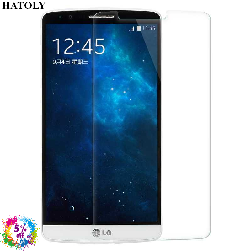 2pcs tempered glass for lg g3 ultra thin screen protector for Photo ecran lg g3