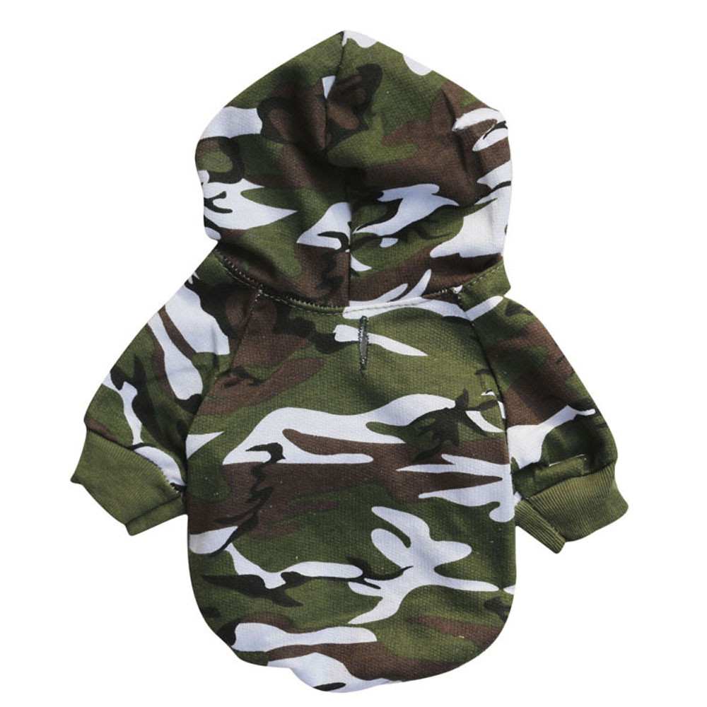 Camouflage Dog Clothes Summer Pets Clothing For Small Dogs Shirts Puppy Outfit For French Bulldogs Dog Clothes Cool Pet Coat 6.6