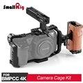 SmallRig BMPCC 4K камера клетка комплект для Blackmagic Дизайн Карманный кинотеатр камера 4K поставляется с клеткой + верхняя ручка + Боковая ручка