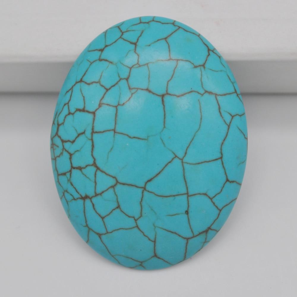 40x30MM Howlite Stone Oval Cabochon CAB GEM Jewelry Making H106