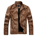 Brand New High Quality Motorcycle Leather Jackets Men Casual Fashion Spring Autumn Winter Coats  Men's PU Leather Jackets