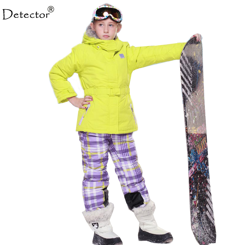 aliexpress buy detector ski suit boys and