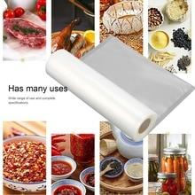 1 рулон бытовой пищевой вакуумной упаковки мешок для вакуумной упаковки пищевых продуктов, сохраняющий свежесть, длинный грузовой мешок, вакуумный пакет для сохранения свежести, упаковщик, аксессуар