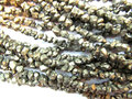 5strands 4-10mm genuine Raw pyrite stone nuggets bead freeform chips iron gold box square cube rough pyrite loose beads