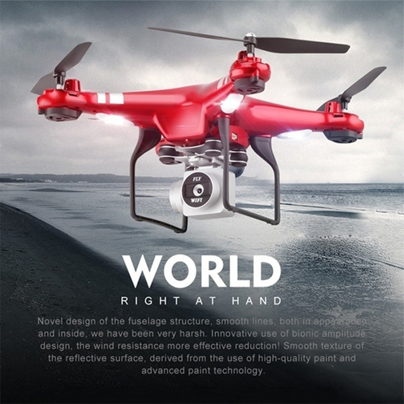 2018 nuevo RC drone Wifi FPV HD ajustable Cámara 3MP/720 p RC helicóptero estable cuatro- eje aeronaves