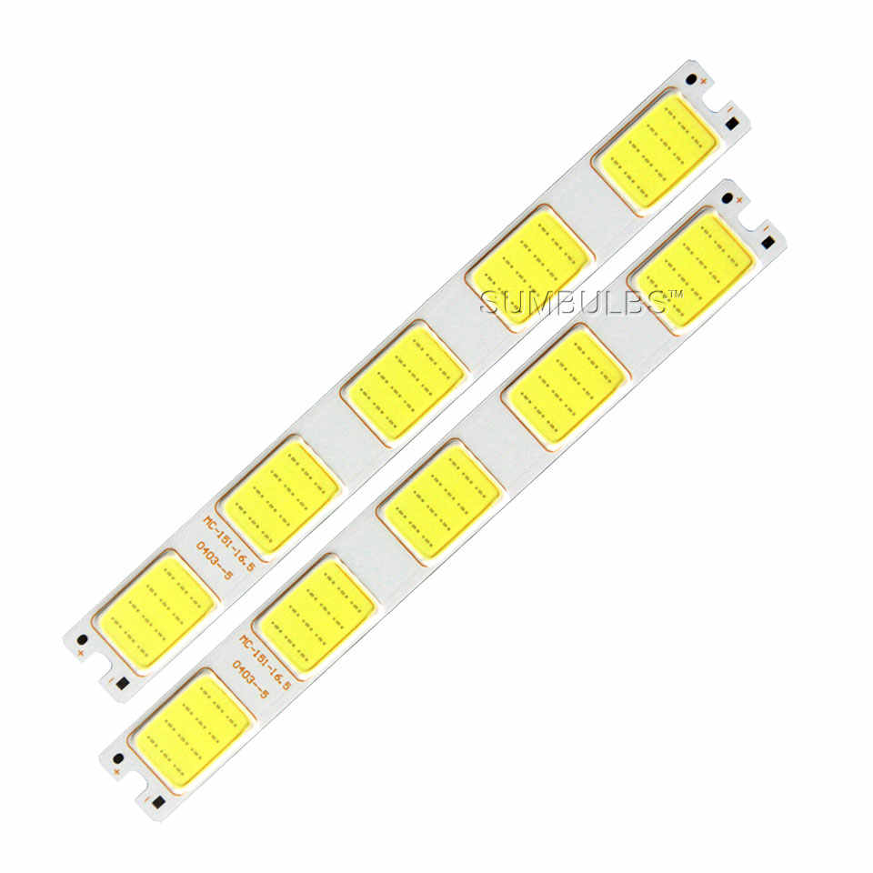 [Sumbulbs] Grid Star Arrow Shaped COB LED Light Source Bulb 5W 12V DC LED Bard Light Strip for DIY Work Lamp House Car Lighting