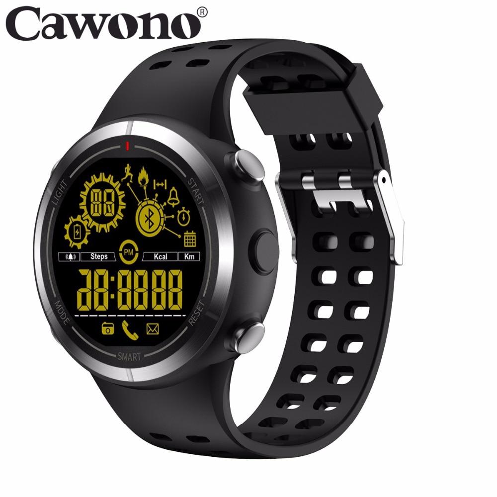 Cawono CN6 Waterpoof Bluetooth 4.0 Smart Watch Stopwatch Sport Wristwatch Pedometer Smartwatch for Android IOS VS EX18 EX36 EX16