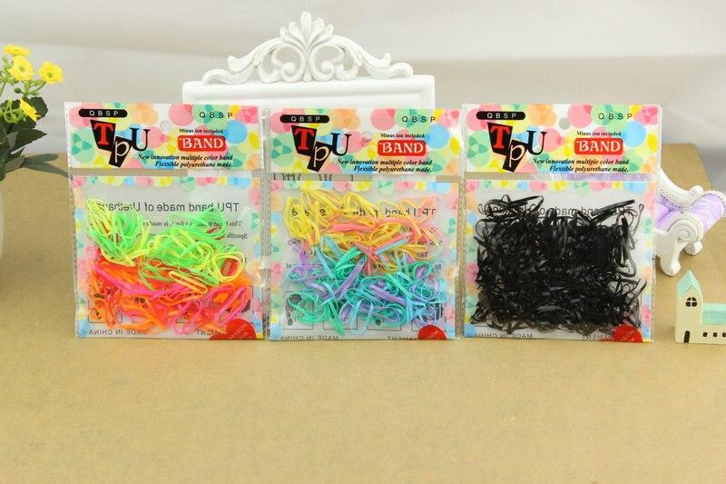 Small children baby sinews Tire hair Coloured hair bands Disposable elastic Korean hair accessories