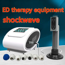 Male Sexual Erectile Dysfunction Therapeutic Shockwave Apparatus / Portable low intensity ED Shock Wave Therapy Edswt Equipment