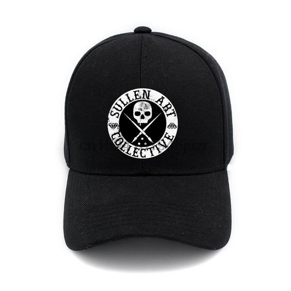Sullen Art Print Hats Caps Cotton Hat Adjustable Baseball Cap Summer Sport Cap(China)