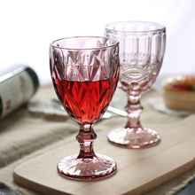 Ретро-ручка с тиснением вино стекло Творческий сок бокал бокалы для красного вина Виски хрустальный бокал для шампанского дома посуда 3 шт./компл