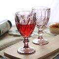 Retro farbe geprägte wein glas kreative saft glas becher rotwein tasse Whisky champagner glas Hause drink 3 teile/satz-in Weiteres Glas aus Heim und Garten bei