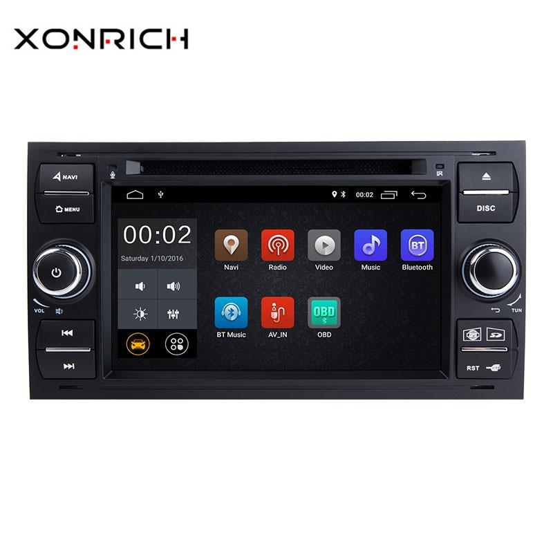 Xonrich Autoradio 2 Din Android 8 1 Car DVD font b Player b font GPS For