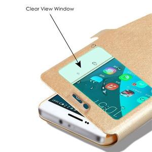 Image 3 - 스마트 윈도우보기 삼성 갤럭시 M10 M20 M30 A10 A20 A30 A40 A50 A70 A8S A9S 케이스 커버에 대 한 명확한 가죽 스탠드 플립 전화 케이스