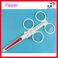 Free Shipping Adjustable PD Scale Plastic 4-Lens Confirmation Test  Flipper Ophthalmic Flipper 8 Diopters