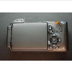 95% nowy powrót etui do aparatów Canon 600D Rebel T3i tylną pokrywę z LCD wymiana naprawa części