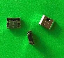 100 قطعة/الوحدة مايكرو USB جاك المقبس موصل شاحن شحن حوض ميناء لسامسونج غالاكسي الأساسية رئيس G360 G361 تبويب E T560 T561