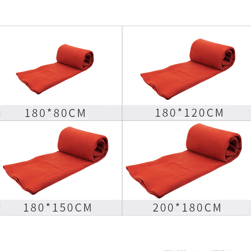 Red Electric Blanket Heating Thicker Warm Mat DoubleSingle Body Warmer Couverture Electrique Carpets Heated Thermostat Blanket (4)