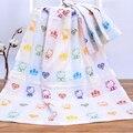 Baby bath towel 70*140 cm 100% algodón de tres capas de gasa towel manta de algodón recién nacido bebé de dibujos animados boy chica de baño producto