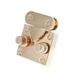 Metal Handbag Clasp Turn Lock