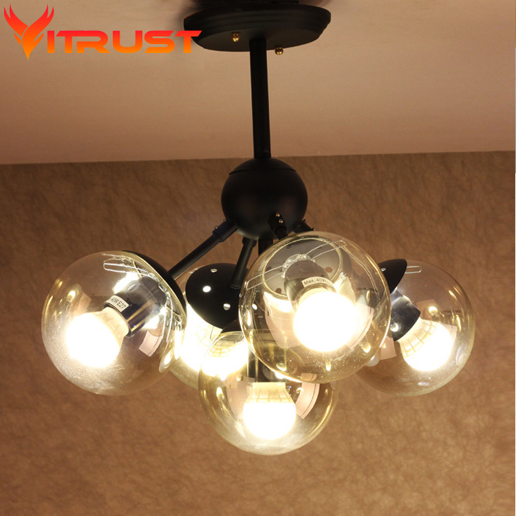 Modo chandelier molecule magic beans chandeliers dinning room lighting Art Deco glass ball pendant lamp