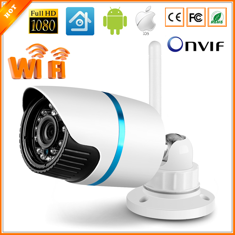 bilder für Full HD 1080 p drahtlose Wifi IP-Kamera SONY IMX222 Onvif Full HD 2mp IP-Kamera drahtlose 1080 P IR-Sperrfilter 2 Megapixel Objektiv