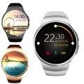 Горячая! KW18 Smart Watch SIM TF MTK2502 Heart Rate Monitor Smartwatch Сенсорный Экран bluetooth Наручные Часы для apple android IOS телефон
