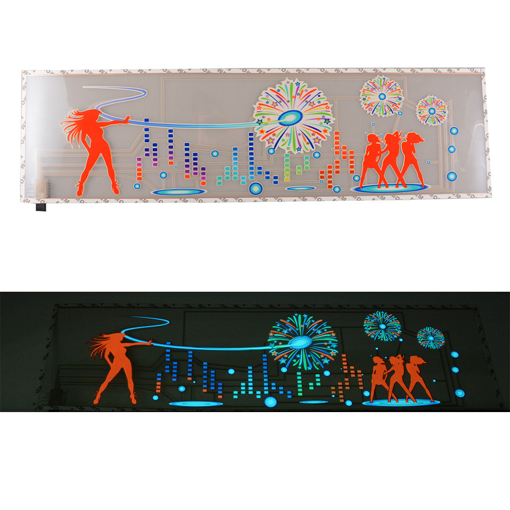 Car body sticker design for sale - Hot Sale Colorful Flashing Music Lamp 2000 Hour Car Music Rhythm Lamp Led Sound Activated Equalizer