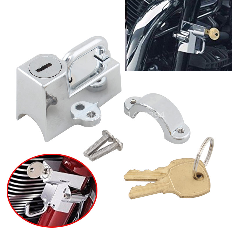 Motorcycle Helmet Lock Anti-theft for Universal <font><b>7</b></font>/8