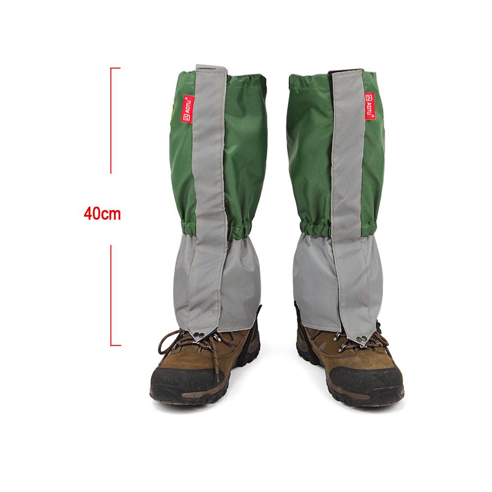 TOMOUNT Unisex Waterproof Legging Gaiter Leg Cover Camping Hiking Ski Boot Travel Shoe Snow Hunting Climbing Gaiters Windproof 4