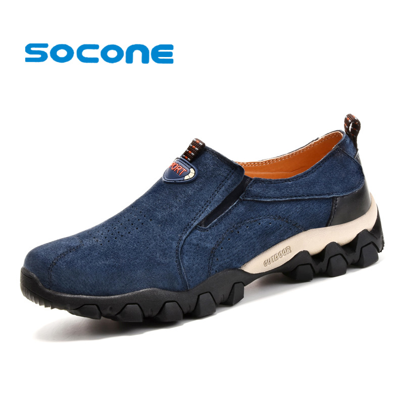 socone mens slip on hiking shoes 2017 leather