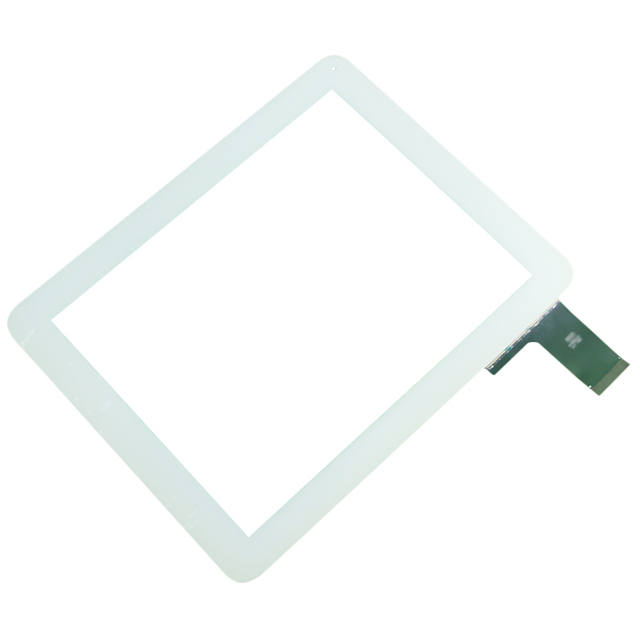 """5pcs/lot 9.7""""  QSD E-C97011-04 Touch Replacement Tablet Panel Touch Screen Digitizer Glass  Digma IDS D10 3G White Color"""