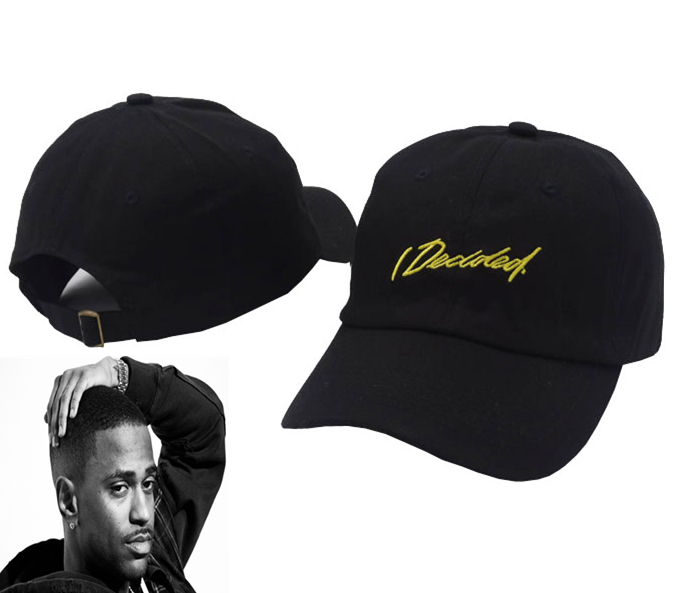 I Decided Cap American Hip Hop Singer Big Sean Record Street Tide Fashion Icon Dad Hats for Men and Women Baseball Cap