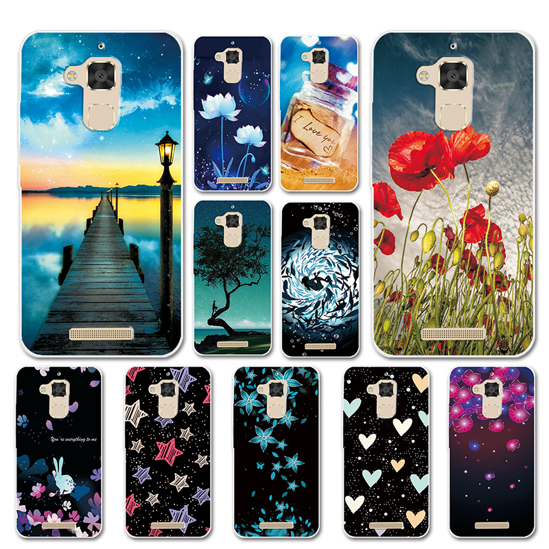 Silicone Case For <font><b>ASUS</b></font> Zenfone 3 MAX <font><b>ZC520TL</b></font> 5.2'' Cover Love Heart Phone Bags For Zenfone 3MAX ZC 520 TL Cases Capa Fundas image