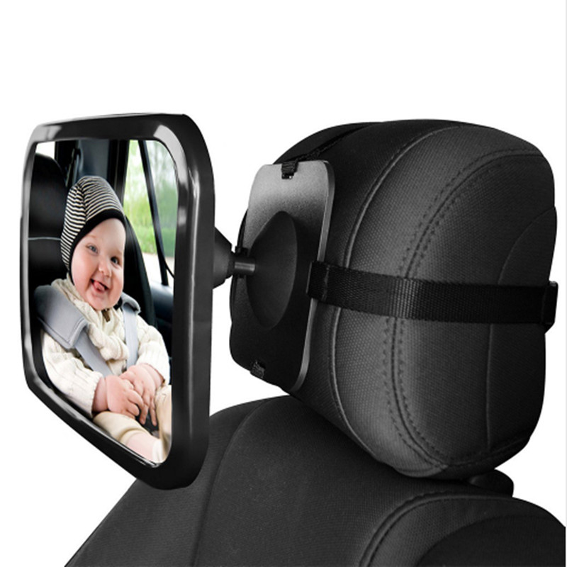 Car Safety Easy View Back Seat Mirror Baby Facing Rear Ward Child Infant Care Square Safety Baby Kids Monitor Car Accessories 68
