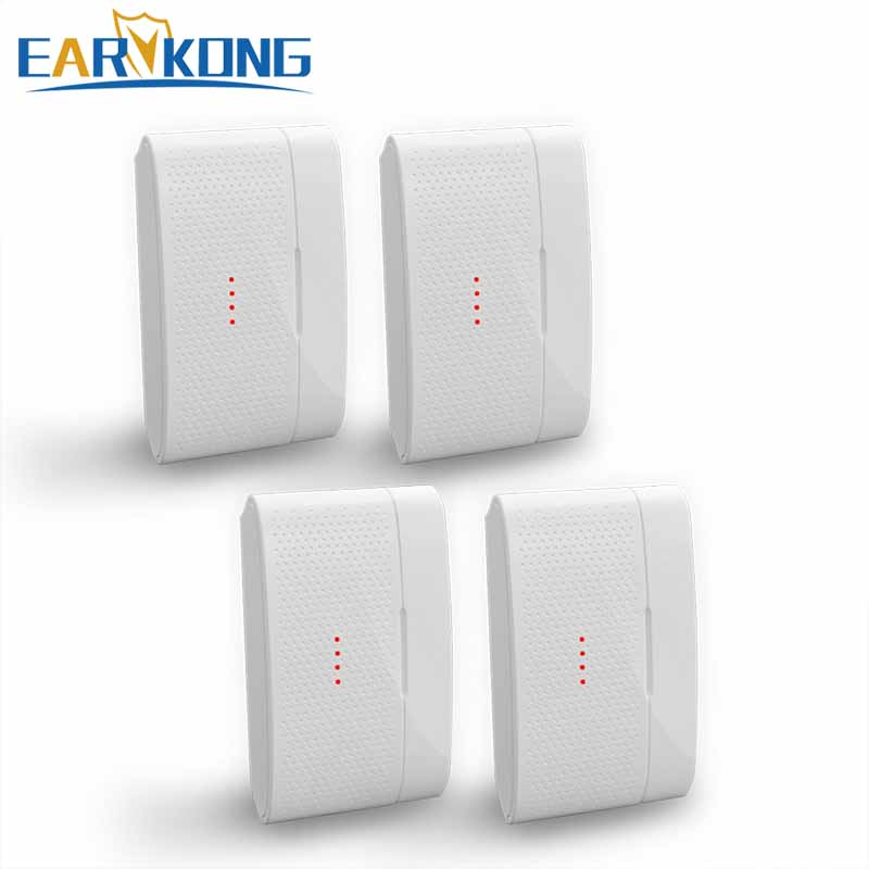 EARYKONG 433MHz Wireless Door Gap Detector,  Door Window Open Sensor, All For Home Burglar Alarm System,