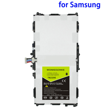 WONKEGONKE T8220E for Samsung Galaxy SM-P601 P600 T520 P601 P605 P607 Note 10.1 2014 Edition 8220mAh Battery Batteries image