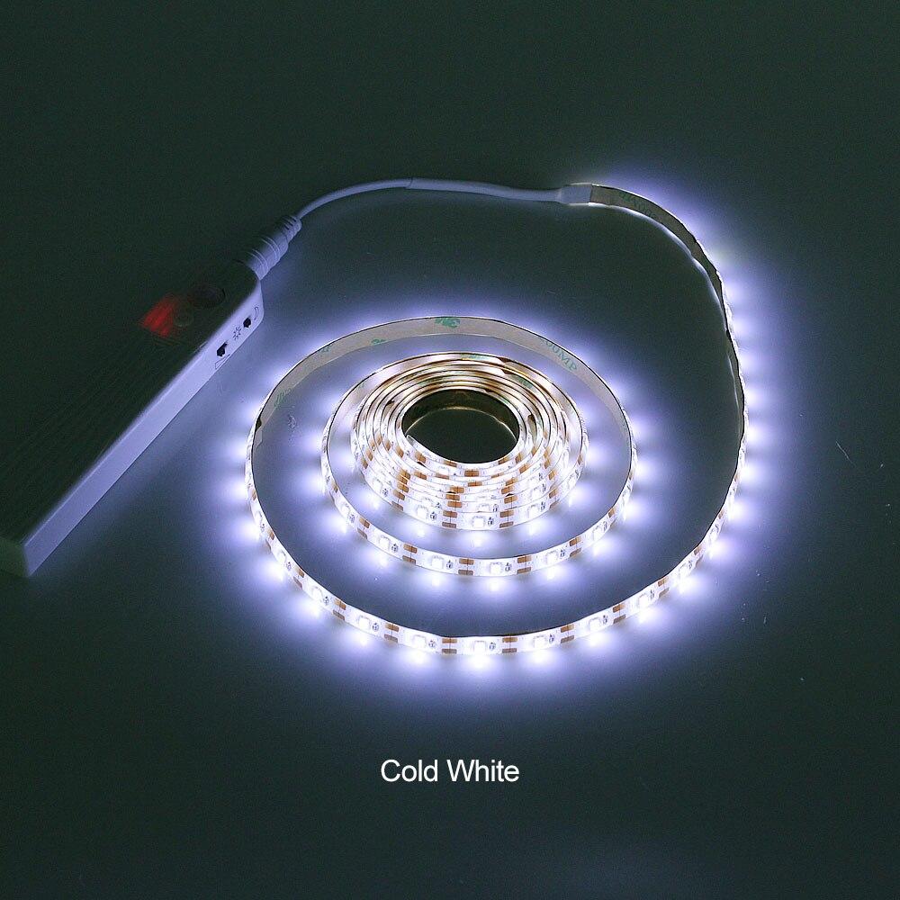 ANBLUB 1M 2M 3M Motion Sensor LED Night light Bed Cabinet Stairs light LED Strip lamp ANBLUB 1M 2M 3M Motion Sensor LED Night light Bed Cabinet Stairs light LED Strip lamp Battery Powered For TV Backlight lighting