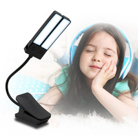Table Lamp Rechargeable Foldable LED Eye care Light with Clip for Reading Student CLH@8