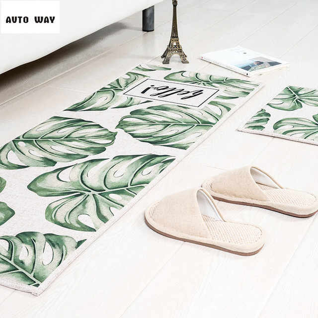 Nordic Plant pattern mats Kitchen mat Door mats Bathroom foyer carpet Bedside carpet Floating window rug  sc 1 st  AliExpress.com & Nordic Plant pattern mats Kitchen mat Door mats Bathroom foyer ...