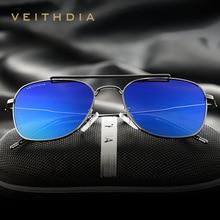 VEITHDIA Fashion Brand Fashion Unisex Sun Glasses Polarized Coating Mirror Sunglasses Oculos Female Eyewear For Men/Women 3820