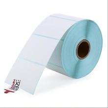 Etiket Kağıt HPRT etiket termal baskı kağıdı 60*40*950 ADET Su Geçirmez barkod baskı kağıt Etiket etiket baskı kağıdı