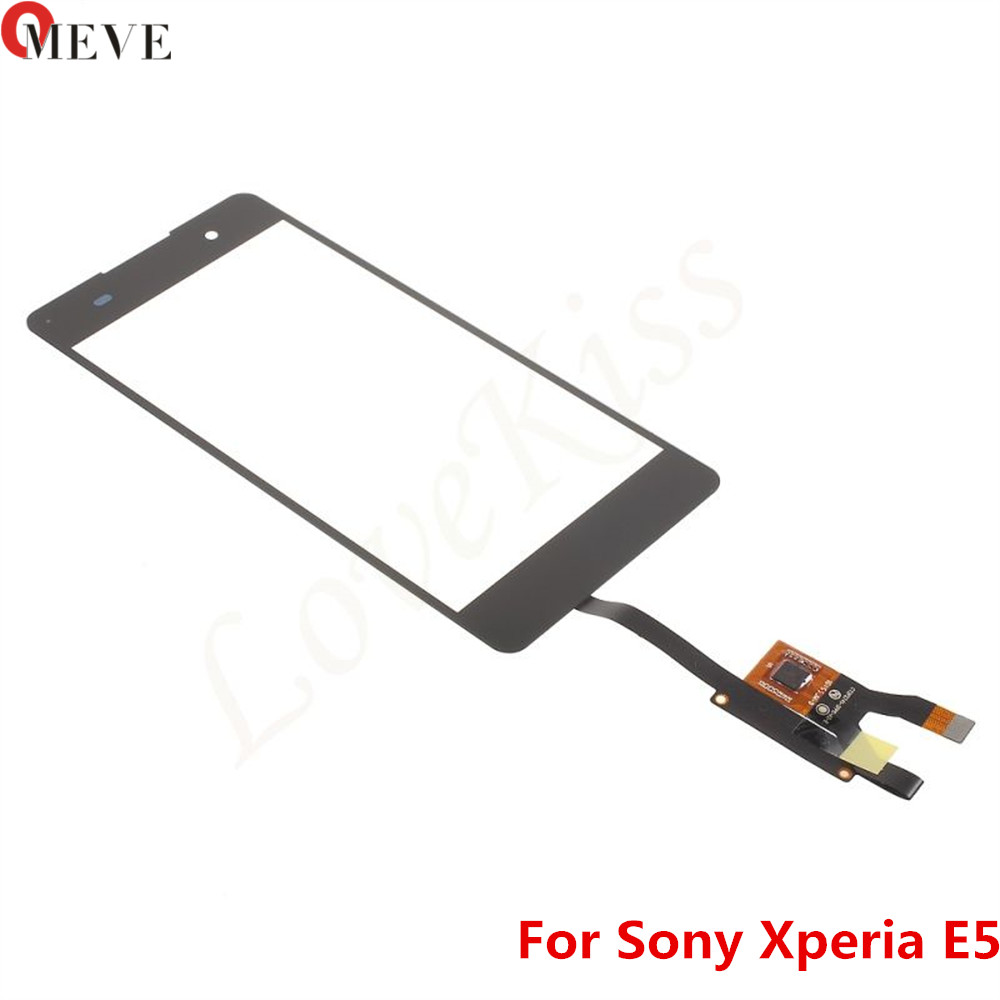 Touchscreen For Sony Xperia E5 F3311 F3313 Touch Screen Sensor For Sony E5 LCD Display Digitizer Front Panel Glass