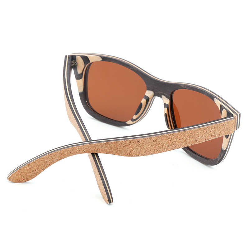 d1dad19f04 ... black 100% pure bamboo sunglasses polarized brown sunglasses women wood  bamboo UV400 sunglasses oculos de ...